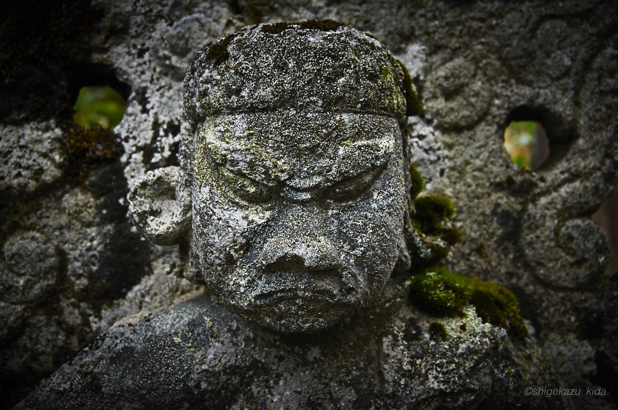 志津乗越の二荒山神社志津宮の石仏