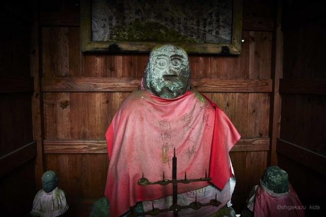 男体山、志津乗越付近の二荒山神社志津宮の御婆