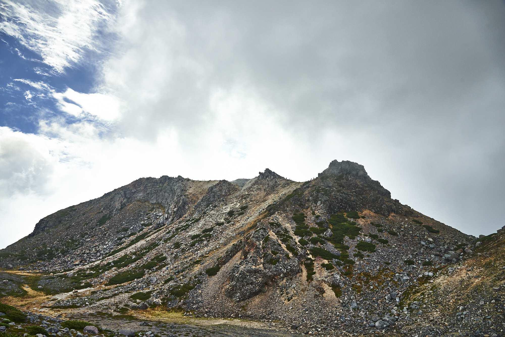 白山の山頂