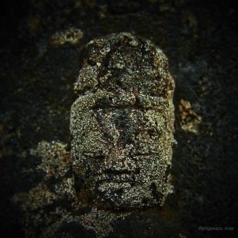 長野県松本市白骨温泉三十三観音の石仏