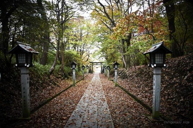 那須岳の温泉神社