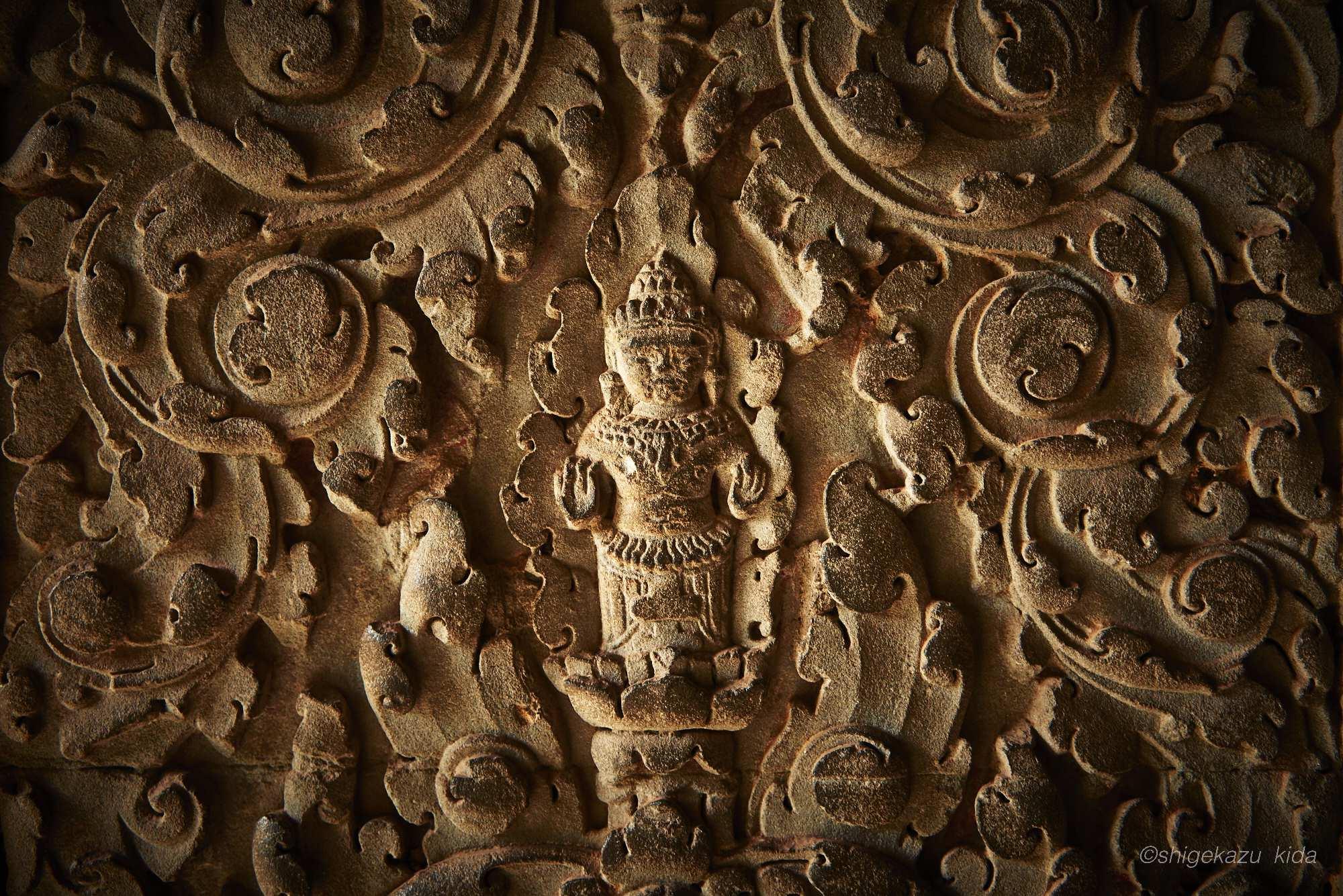 Angkor(アンコール)遺跡群にあるAngkorWat(アンコール・ワット)のレリーフ