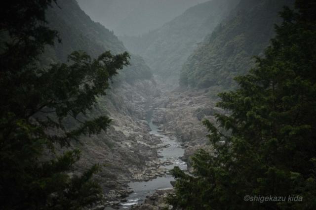 貴田茂和 shigekazu kida 熊野古道近くの瀞峡