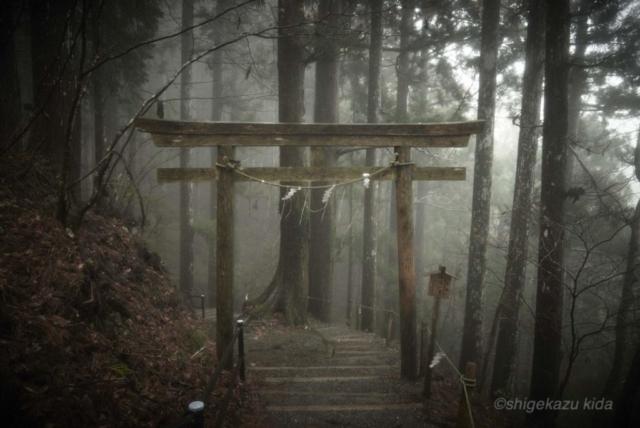 貴田茂和 shigekazu kida 熊野古道の玉置神社
